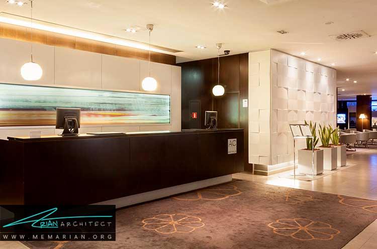 فضای پذیرش در طراحی هتل