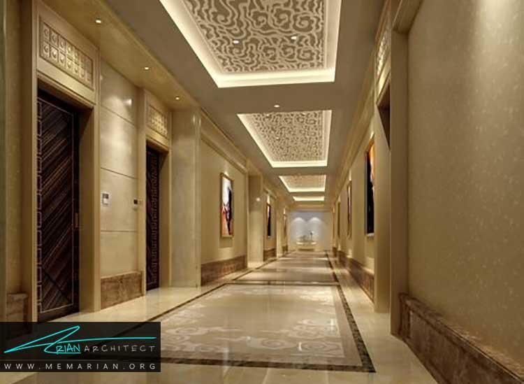 راهروها در طراحی هتل