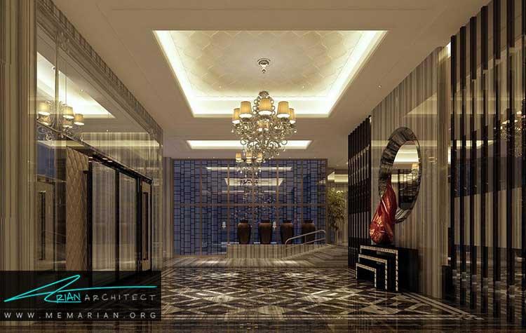 دسترسی ها و راهرو ها در طراحی هتل