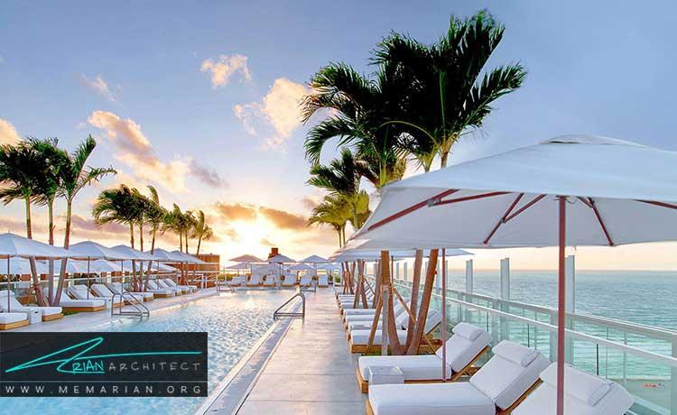 تسهیلات لازم در طراحی هتل