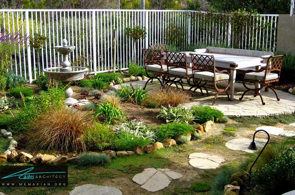 ایده های فوق العاده زیبا برای طراحی باغچه های کوچک