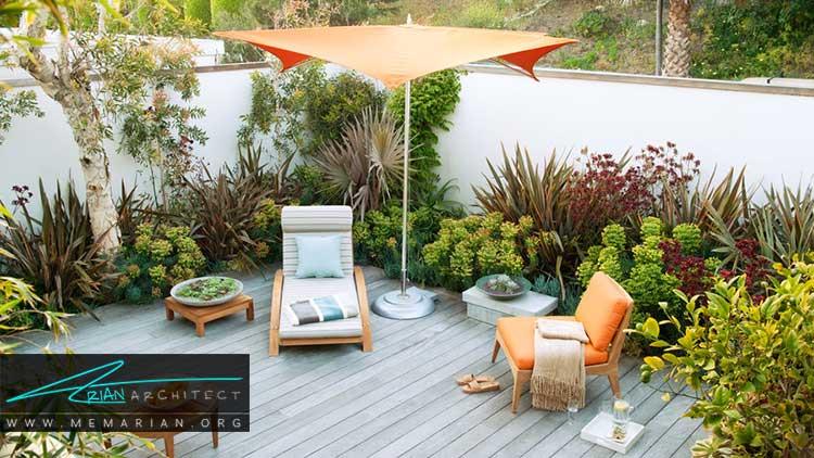 طراحی باغچه های کوچک با گیاهان متنوع