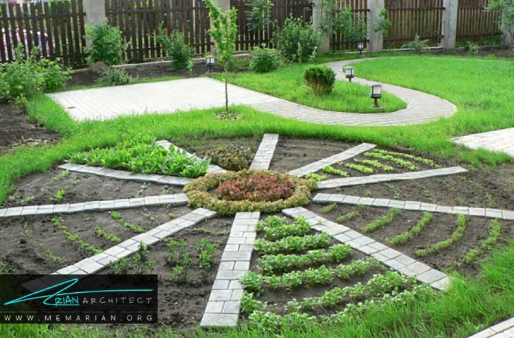 طراحی باغچه های کوچک با کاشت محصولات