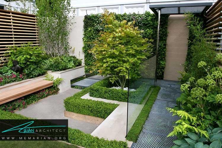 ایده های طراحی باغچه های کوچک