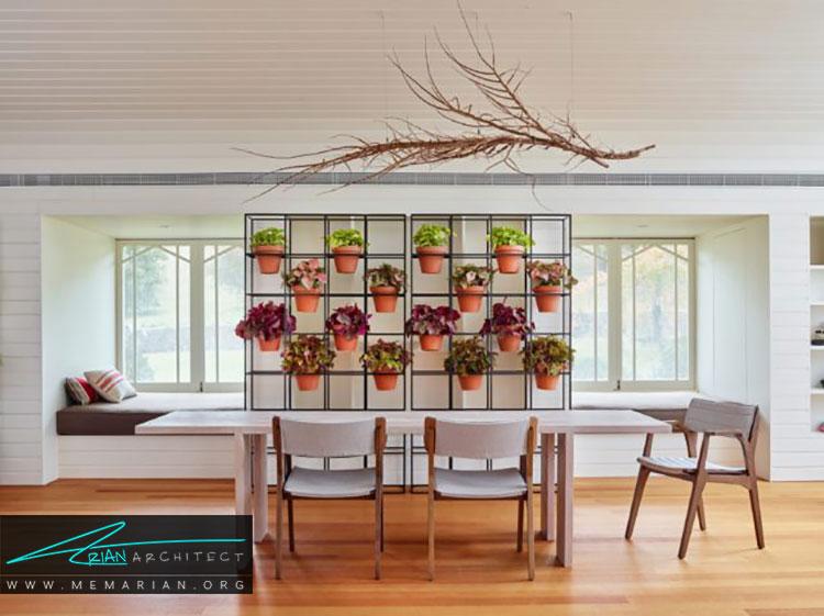 ایده های طراحی باغچه داخل خانه