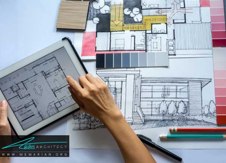 کار معماران داخلی در طراحی داخلی