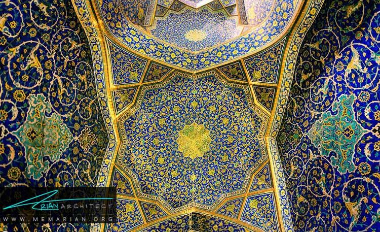 کاشی کاری از تزیینات ایرانی