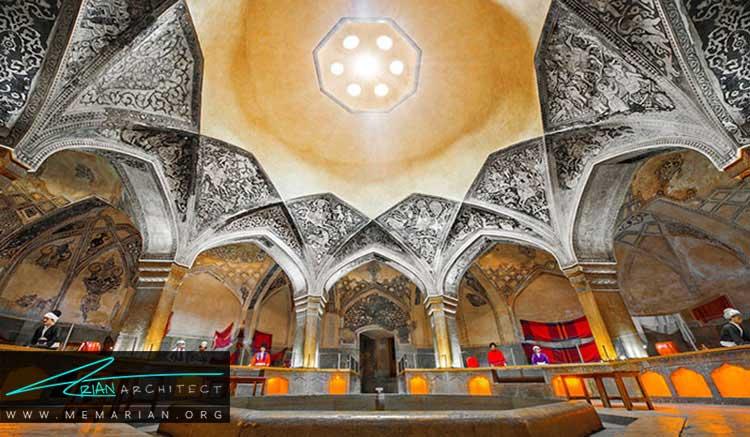آهک بری از تزیینات ایرانی در معماری