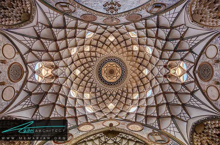 کاربندی از تزیینات ایرانی در معماری