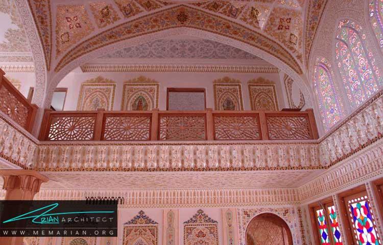 لایه چینی از تزیینات ایرانی در معماری
