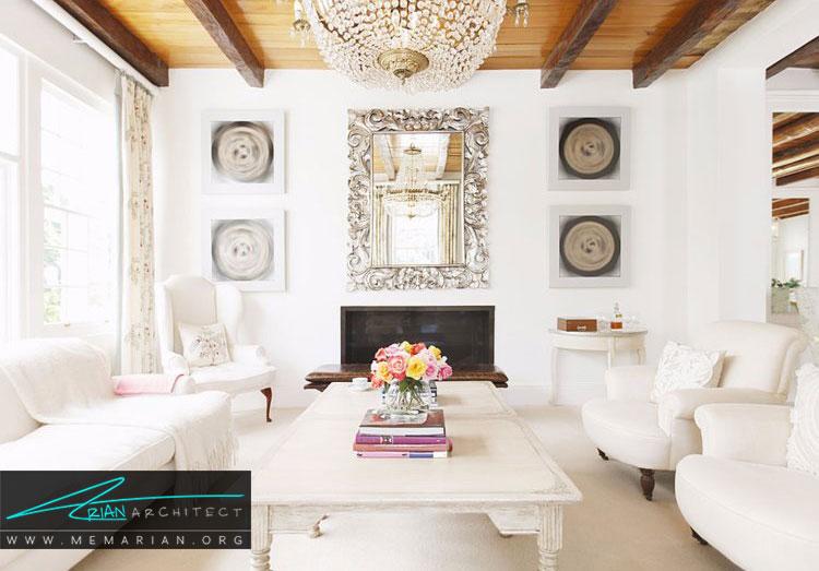 نقطه تمرکز یکی از اصول طراحی اولیه برای دکوراسیون خانه