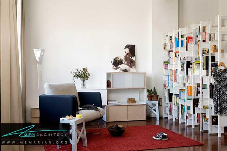 استفاده از نقاط منفی از اصول طراحی اولیه برای دکوراسیون خانه