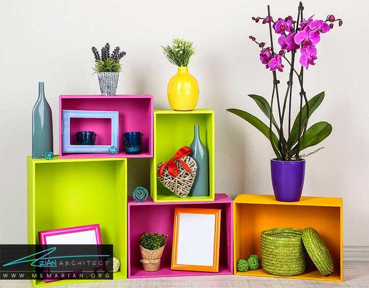 تزئین خانه با لوازم جانبی و اشیای دکوراتیو