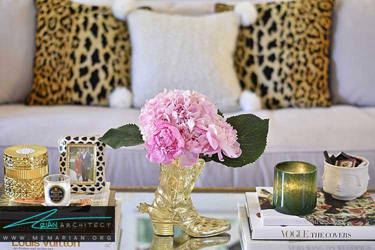گلها و گلدان ها در دکوراسیون و تزئین خانه
