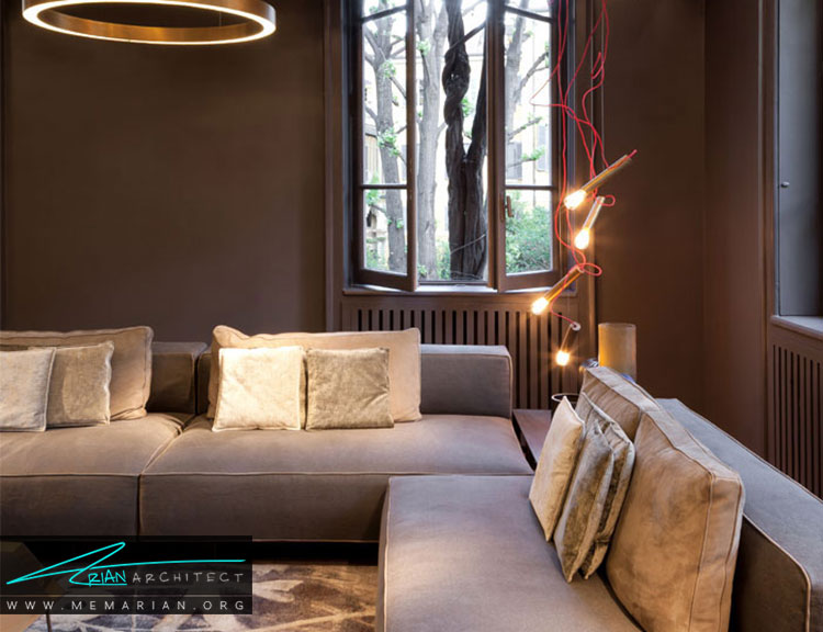 ایده ها و زیباترین طرح های اتاق نشیمن