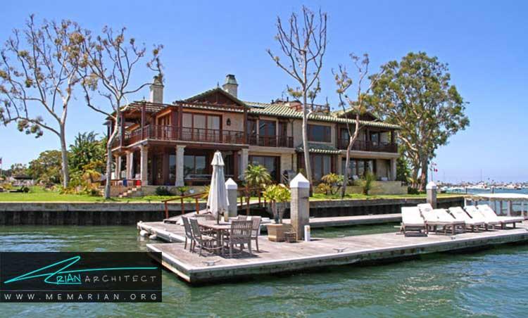 مزایای خانه های کنار دریا
