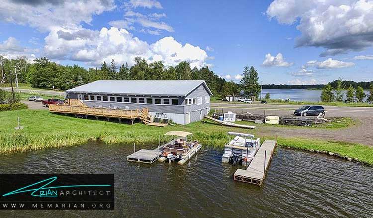 اجاره و خرید خانه کنار دریا و دریاچه ها