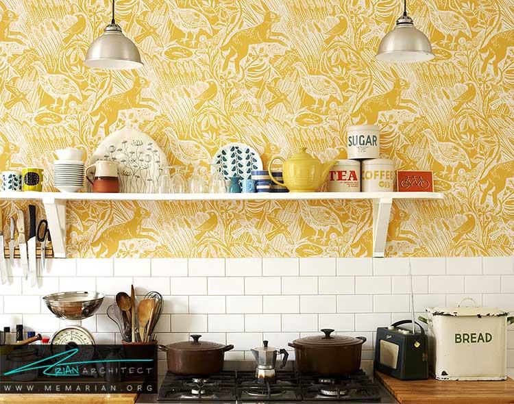بهترین کاغذ دیواری برای آشپزخانه