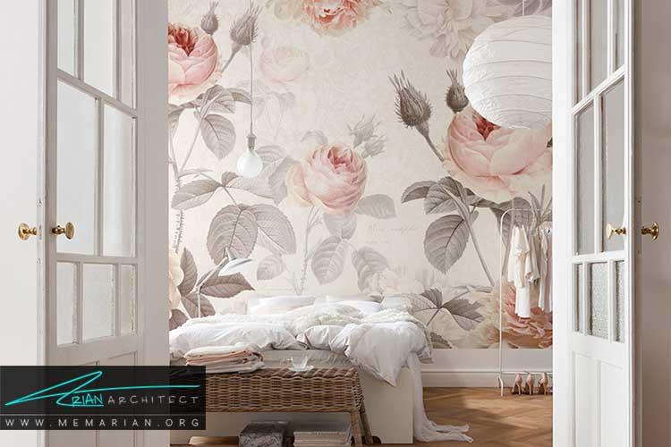 بهترین کاغذ دیواری برای اتاق خواب