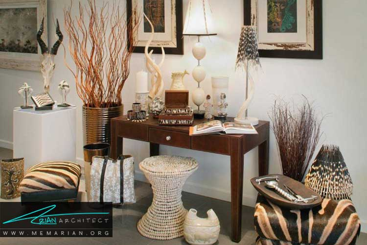 زیباتر کردن دکوراسیون خانه با وسایل تزیینی