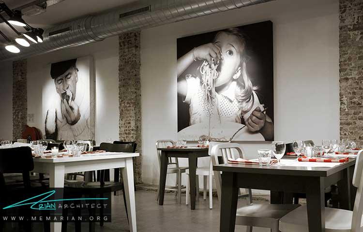ایده های دکوراسیون و طراحی رستوران