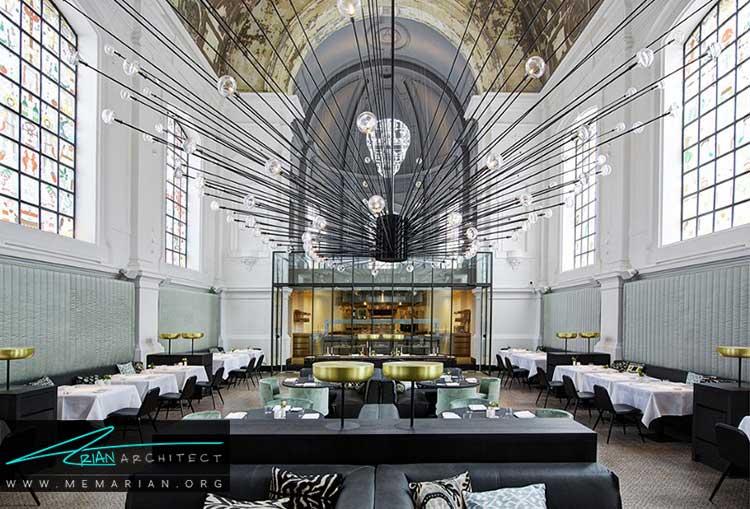 طراحی و دکوراسیون رستوران به بهترین شکل