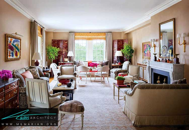 طراحی زیبا خانه های آمریکایی