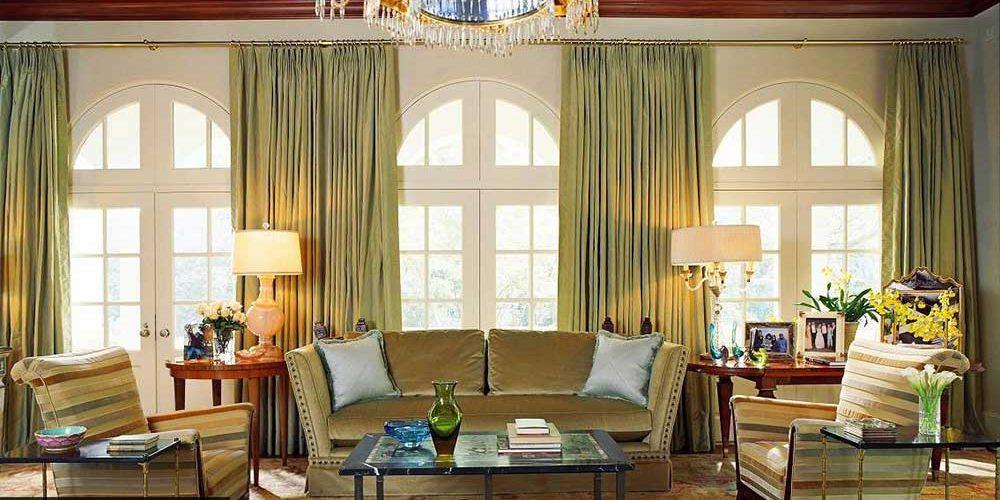 طراحی اتاق نشیمن آمریکایی