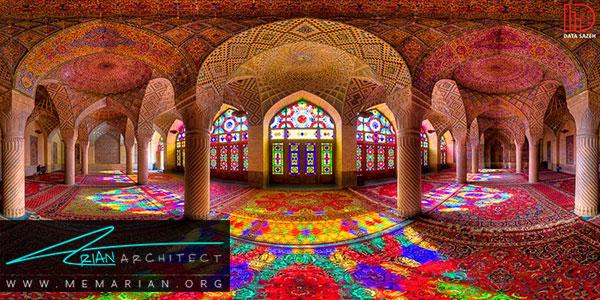 ویژگیهای معماری سنتی ایرانی
