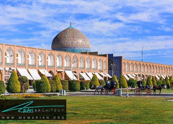 معماری ایرانی مسجد شیخ لطف الله اصفهان