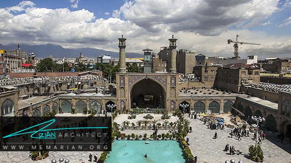 معماری ایرانی مسجد امام تهران