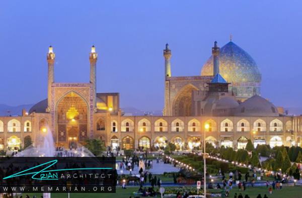 معماری ایرانی مسجد امام اصفهان