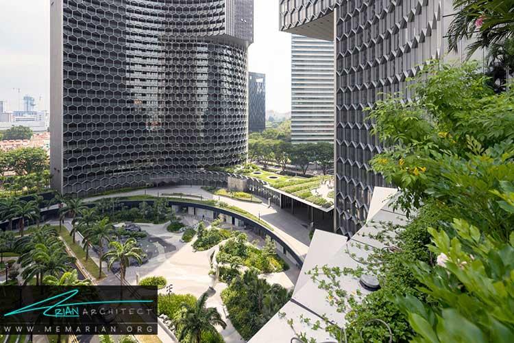 برج های DUO در سنگاپور