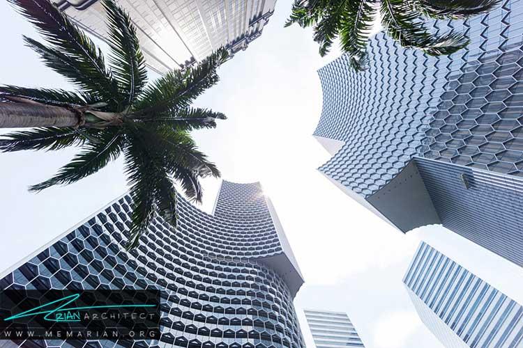 برج های بلند طراحی شده در سنگاپور