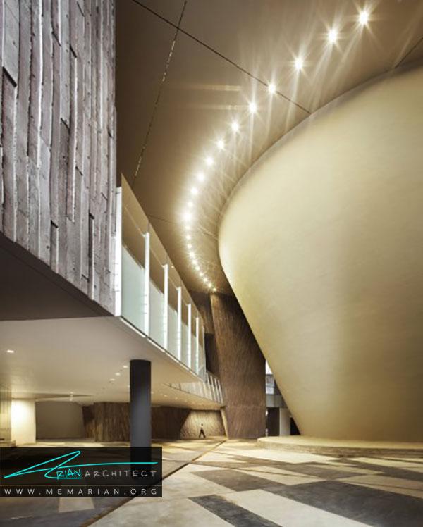 طراحی داخلی ساختمان مدرسه هنر سنگاپور