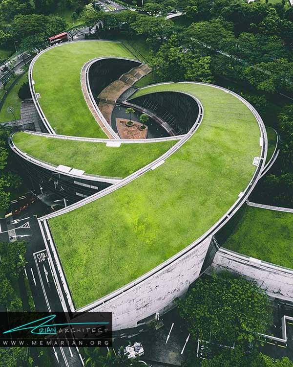 تحلیل سایت پلان مدرسه هنر سنگاپور