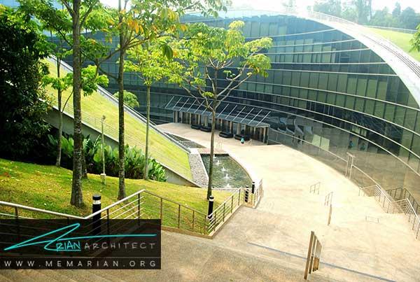 نمای ساختمان مدرسه هنر سنگاپور