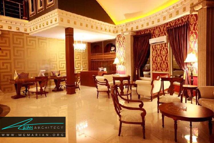 هتل ترنج کیش از بهترین هتل های ایرانی