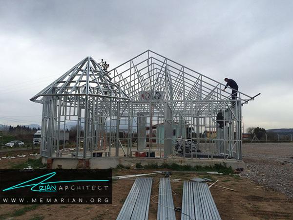 قواعد مربوط به ساخت و ساز با سیستم نوینسازه های فولادی سبک (LSF)
