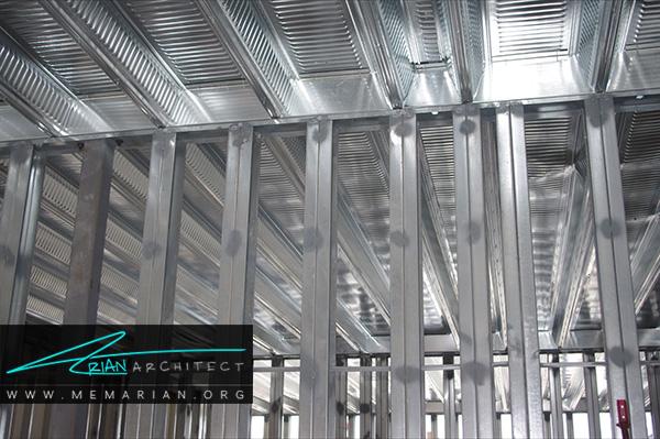 ثبات در ابعاد از مزایای سیستم سازه های فولادی سبک (LSF)