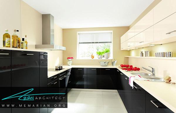 رنگ های جفت در آشپزخانه از ترند های جدید دکوراسیون 2018