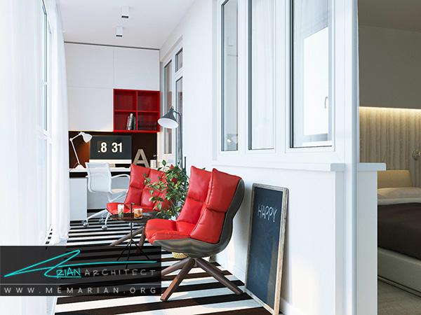 صندلی های راحت و جذاب برای دکوراسیون بالکن