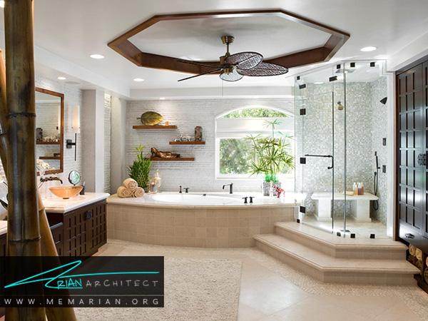 اهمیت نور در دکوراسیون حمام
