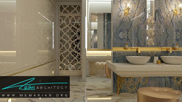 رنگهای مناسب برای دکوراسیون حمام مدرن