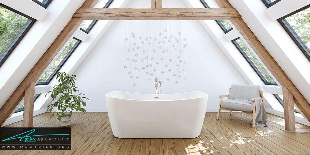 ترند های جدید برای دکوراسیون حمام های مدرن