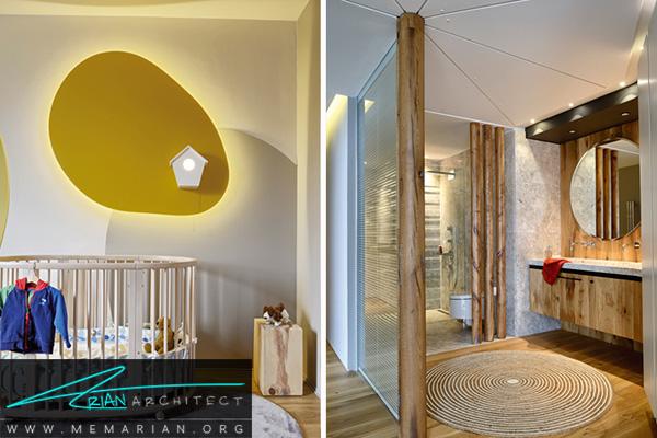 راه حل های کاربردی اتاق نوزاد و حمام مستر در تغییر دکوراسیون خانه ای در استانبول