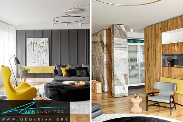 راه حل های کاربردی سالن پذیرایی در تغییر دکوراسیون خانه ای در استانبول