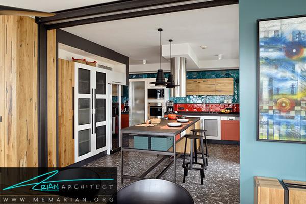 راه حل های کاربردی آشپزخانه در تغییر دکوراسیون خانه ای در استانبول