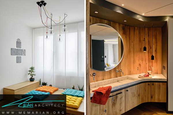 راه حل های کاربردی اتاق مدیتیشن و حمام در تغییر دکوراسیون خانه ای در استانبول