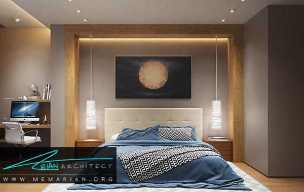 تخت خواب در فنگ شویی در چیدمان داخلی خانه